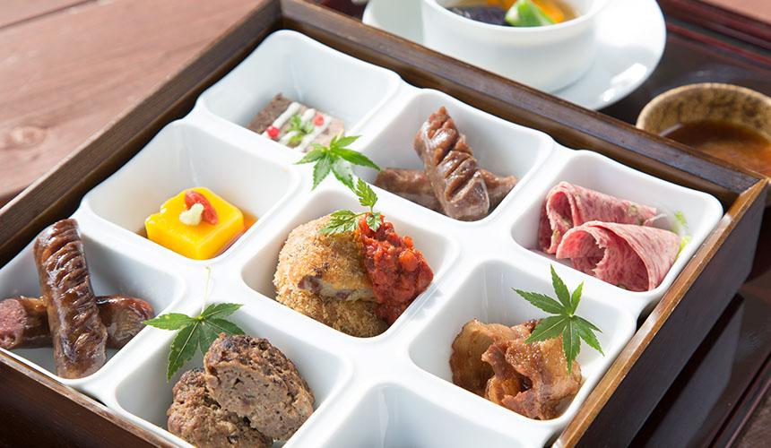 >南紀熊野の食材遺産と古座川地美恵満喫御膳