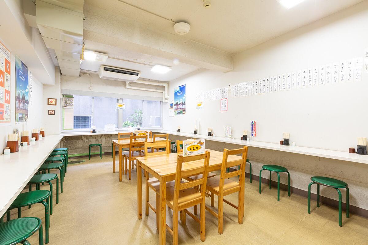 県庁地下食堂 信濃屋