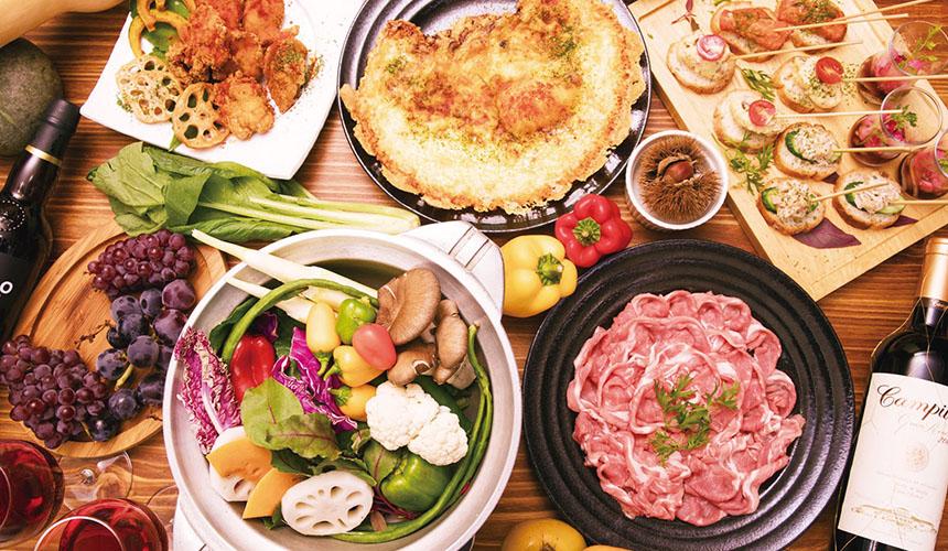 >〆まで美味しいシシ鍋コース